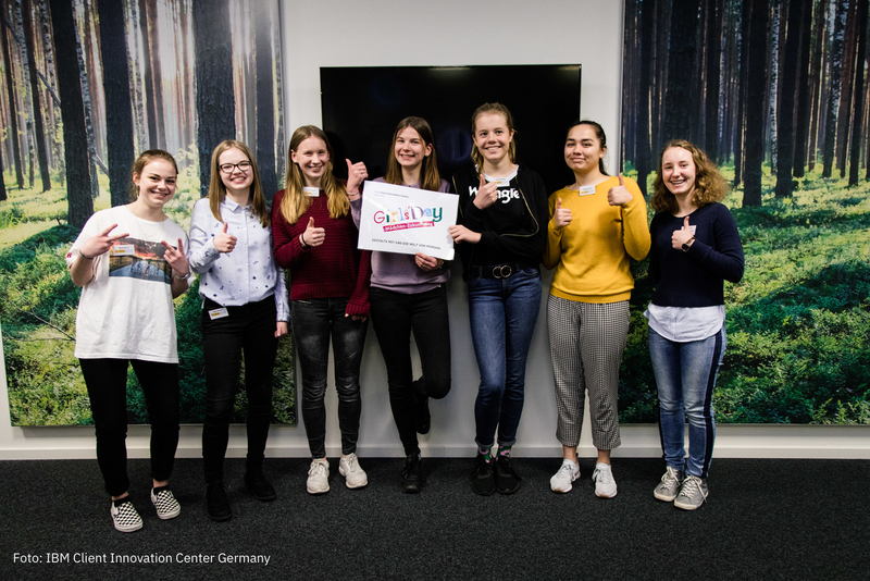 Girls'Day 2019 bei IBM in Magdeburg